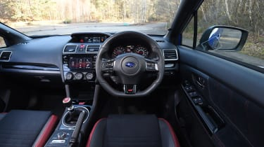 Subaru WRX STi Final Edition - interior