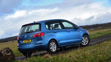 VW Golf SV BlueMotion rear