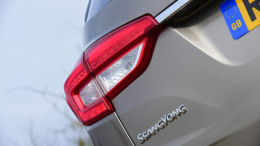 SsangYong Rexton long term - first report rear light