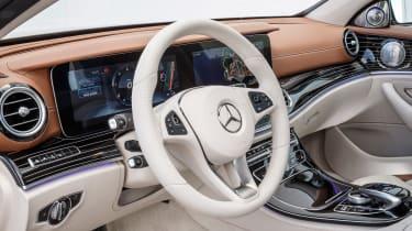 Mercedes E-Class - interior