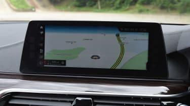 BMW 5 Series Touring - sat-nav