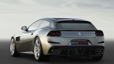 Ferrari GTC4 Lusso - rear quarter