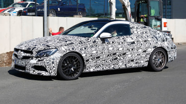The Mercedes-AMG C63 Coupe will be the third bodystyle available, with a convertible coming in 2016