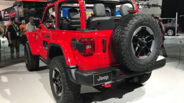 2018 Jeep Wrangler new - rear
