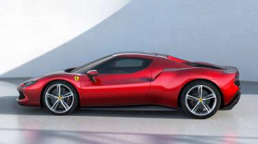 Ferrari 296 GTB - side