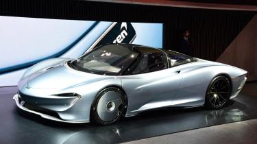 McLaren Speedtail - Geneva front
