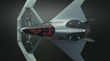 Aston Martin Vision Volante Concept - full above