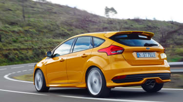 Ford Focus ST diesel rear tracking