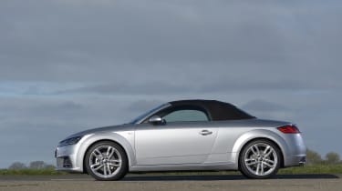 "<p class=""p1"">The Audi TT Coupe was one of the most impressive cars launched in 2014. How about the soft-top version?</p>"