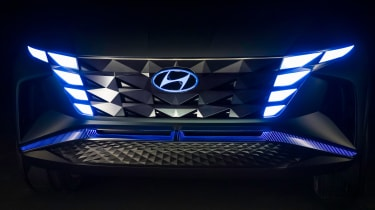 Hyundai Vision T - front grille