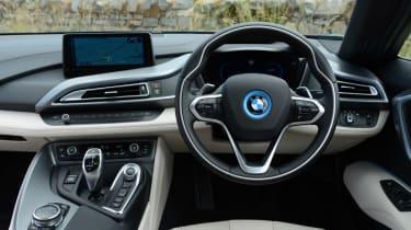 BMW i8 UK interior