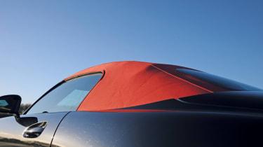 Mercedes SLS AMG Roadster roof detail