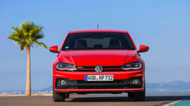Volkswagen Polo GTI 2018 nose