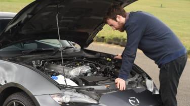 Mazda MX-5 RF long-term test - bonnet