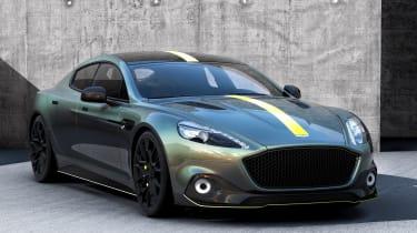 Aston Martin AMR brand - Rapide front quarter
