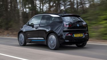 BMW i3 rear tracking
