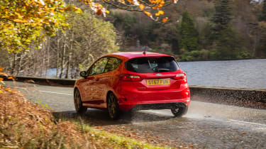 New Ford Fiesta ST-Line - rear panning
