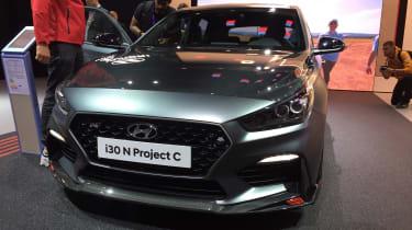 Hyundai i30 N Project C - Frankfurt full front