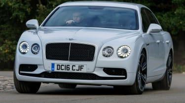 Bentley Flying Spur V8 S - front cornering