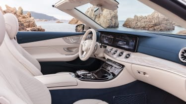 Mercedes E-Class Cabriolet 2017 - AMG Line interior 2