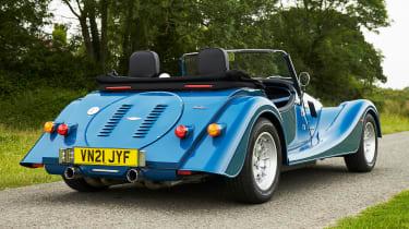 Morgan Plus Four - rear static