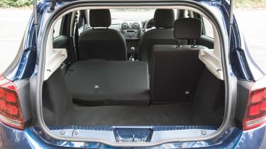 Dacia Sandero facelift - boot