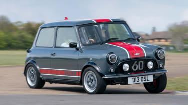 David Brown Automotive Mini Remastered Oselli Edition - front cornering