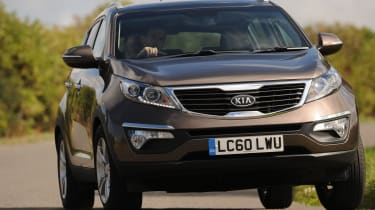 Best cars for under £15,000 - Kia Sportage