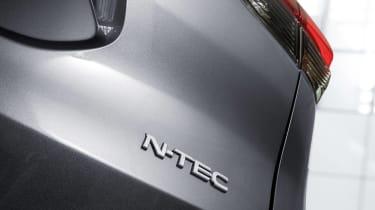 Nissan X-Trail N-Tec - rear badge
