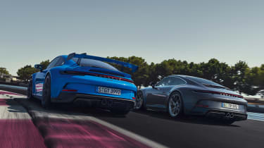 Porsche 911 GT3 Touring and Porsche 911 GT3 - rear