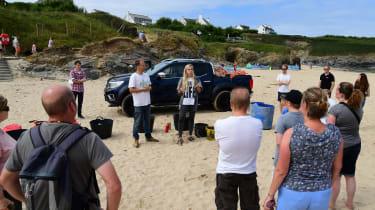 Beach Guardian group volunteers