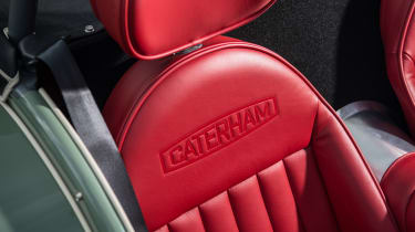Caterham Seven Sprint - seat