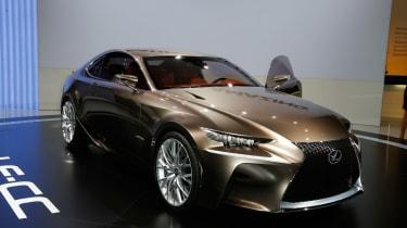 Lexus LF-CC front three-quarters