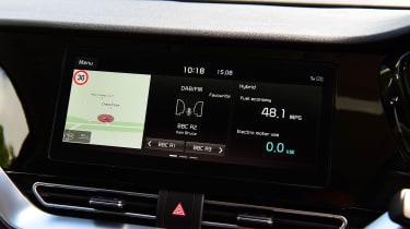 New Kia Niro Hybrid - infotainment