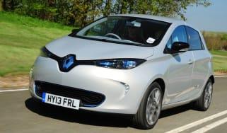 Renault ZOE Zen front tracking