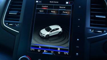 Renault Megane RS - screen