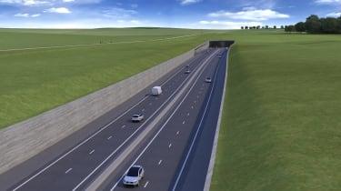 Stonehenge tunnel - banked option