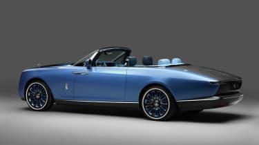 Rolls-Royce Boat Tail - rear studio roof down