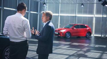 New Kia Rio - reveal event Graham talking 2