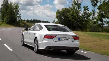 Audi A7 Ultra rear