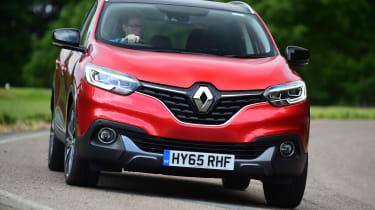 Renault Kadjar 2016 - front cornering