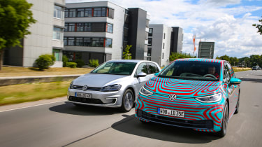 Volkswagen ID.3 vs Volkswagen e-Golf - front