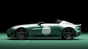 Aston Martin V12 Speedster DBR1 - side