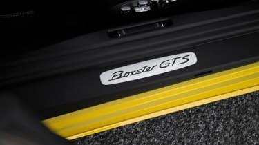 Porsche 718 Boxster GTS - badge