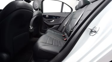 Mercedes C-Class -Rear Seats