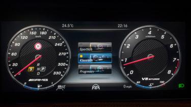 Mercedes-AMG S 63 - dials
