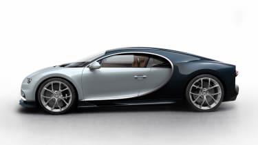 Bugatti Chiron - silver/black