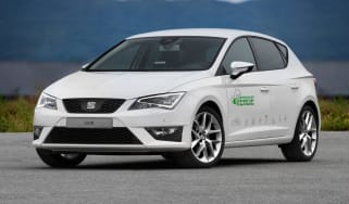 SEAT Leon Verde plug-in hybrid front