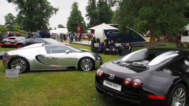 Goodwood Festival of Speed 2017 - Bugattis