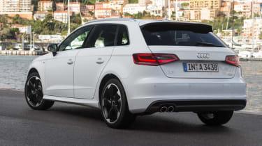Audi A3 Sportback TFSI rear static